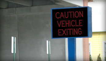 LED Warning and Safety Parking Signs