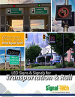 Highway Lane Control and Rail Safety Sign Brochure