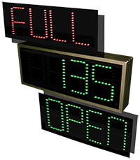 4 Digit LED Signs