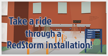Take a ride through a RedStorm™ installation
