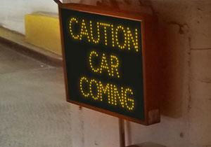Garage Parking Stop >> Outdoor LED Parking Garage Signs | LED Parking Lot Signs ...