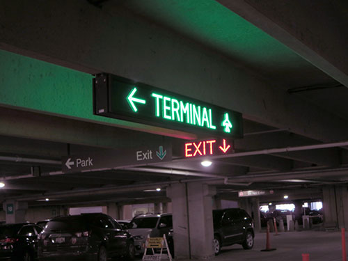 Parking Entrance And Exit Signs Gallery Information