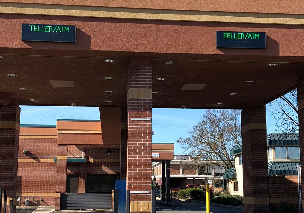Northwest Federal Credit Union >> Bank Drive-Thru Signs Gallery   Information Center   Signal-Tech