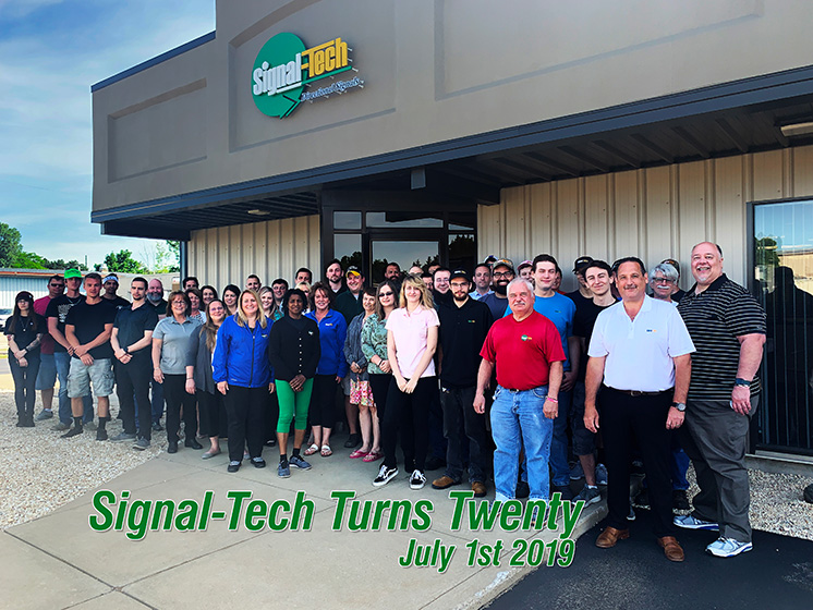 Signal-Tech Company Photo (15 years)