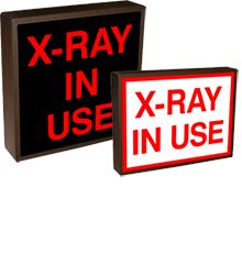 LED Medical Safety Signs - X-Ray In Use [31273 ]