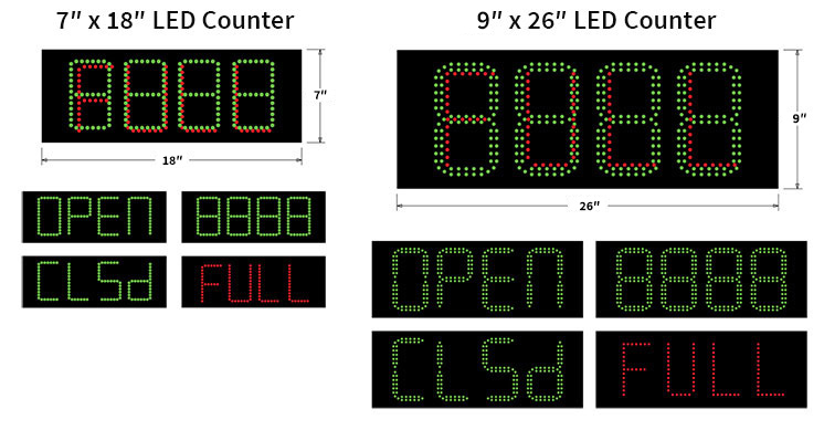 4-digit led display