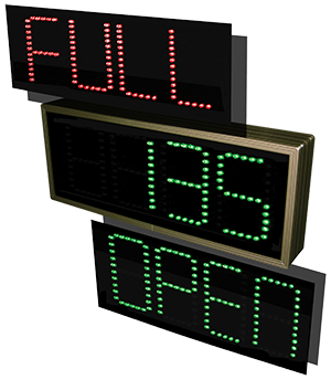 4-digit (7-Segment) LED Sign Insert