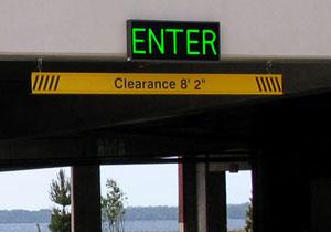 Outdoor Led Parking Garage Signs Led Parking Lot Signs