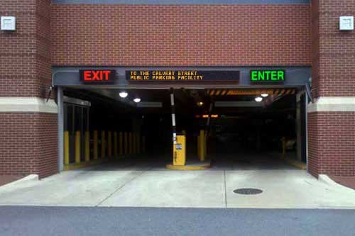 Enter and Exit Signs in Annapolis, MD