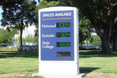 California State University, Fullerton - Space Available Sign