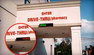 Pharmacy Drive-thru