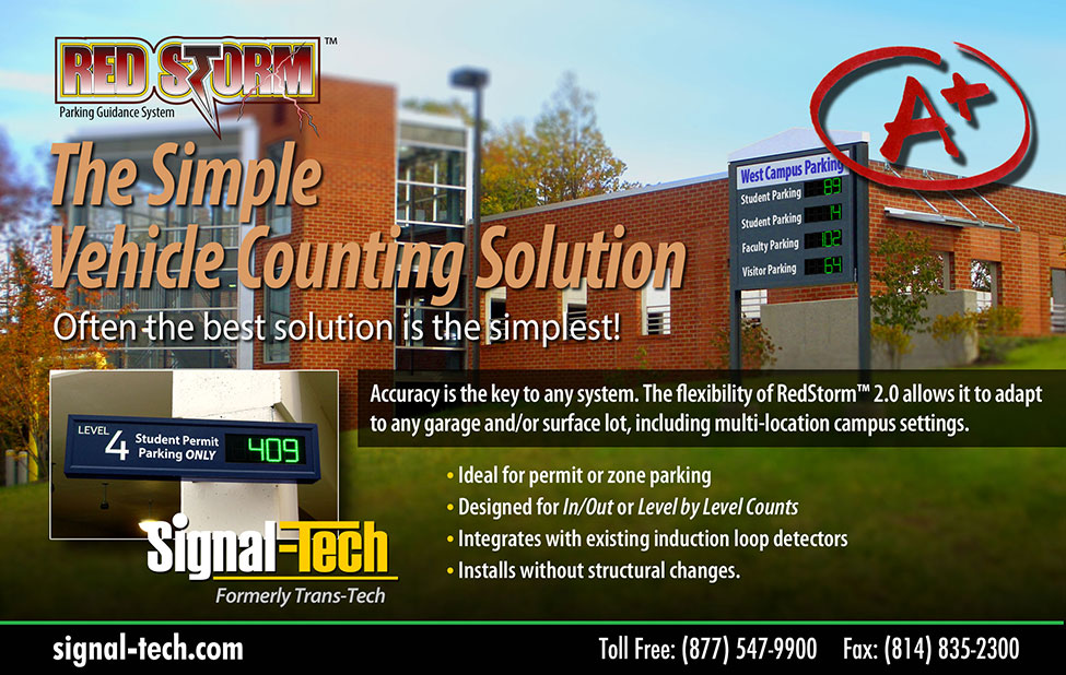 RedStorm™ Parking Guidance System - The Ideal Vehicle Counting