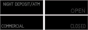 12891 Tcl1442gggr C837 Night Deposit Atm Commercial