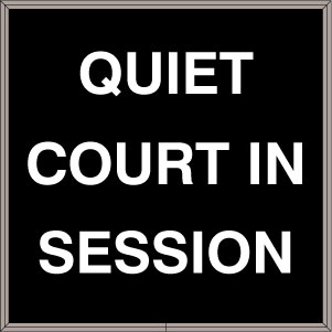 38700 Sbl1212r A272 Quiet Court In Session Led Signs