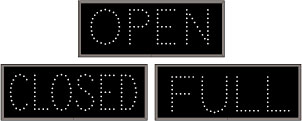 Open | Closed - 25883