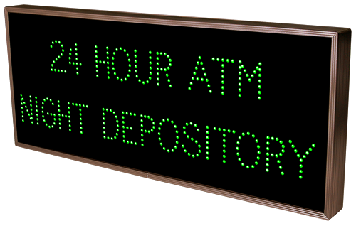 24 HOUR ATM NIGHT DEPOSITORY