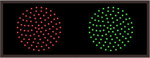 30 DOUBLE INDICATOR DOTS