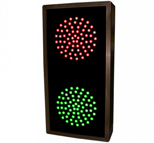 Signal-Tech 30126 TCL147RG-225/12-24VDC Indicator Dots, Double, Vertical, 4 in dia, Red - Green (12-24 VDC)