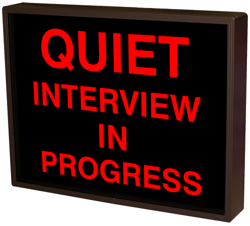 38665 Sbl1418r F398 Quiet Interview In Progress Led
