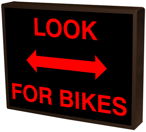 LOOK FOR BIKES w/Double Ended Arrow
