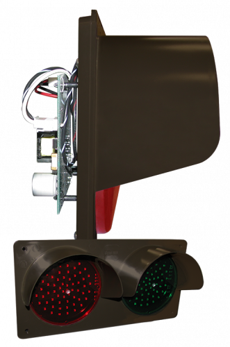 Signal-Tech 42786 TCILH-CB-RGH/12-24VDC TCILH Horizontal Replacement Kit, LED Circuit Board w/ Hood, Red/Green (12-24 VDC)
