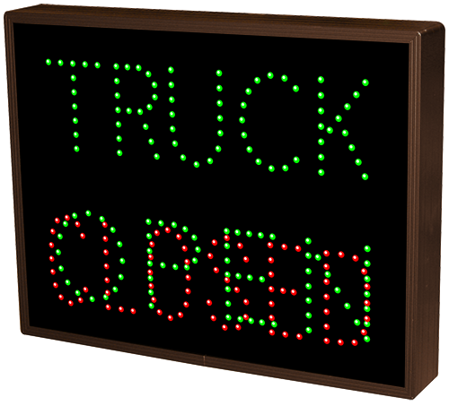 TRUCK | OPEN | CLOSED