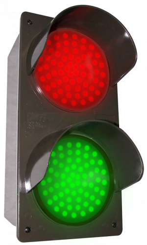 Signal-Tech 51592 TCILV-RG/12-24VDC LED Traffic Controller - Vertical, Red-Green (12-24 VDC)