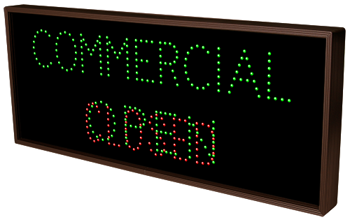 COMMERCIAL | OPEN | CLOSED