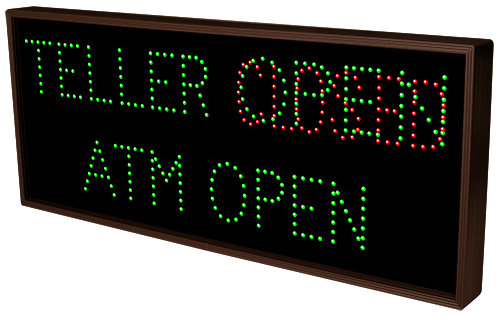 TELLER | ATM OPEN | OPEN | CLOSED
