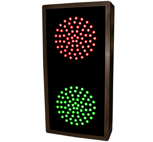 5440 Tcl147rg 225 Indicator Dots Double Vertical Red