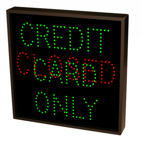 CREDIT CARD ONLY | CLOSED