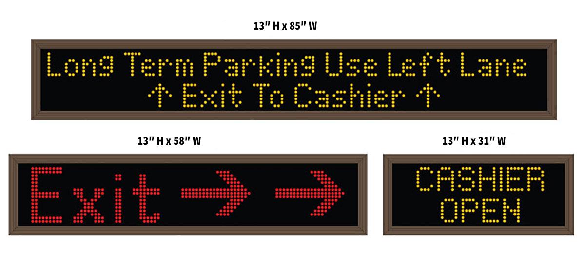 Smart Sign Rebel VMS Display | LED Programmable Parking