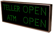 TCL Series - Outdoor Blank-out LED Direct-view Sign